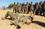 US Marines Train Guatemalan Paratroopers01/2012